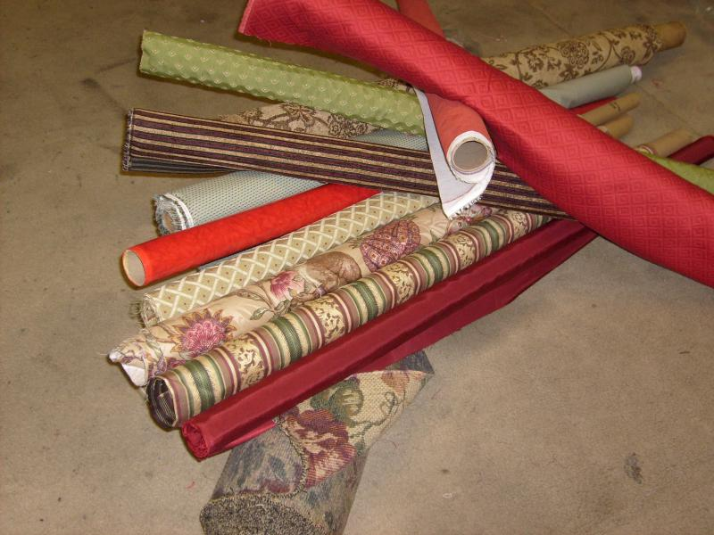 Fabric On The Roll